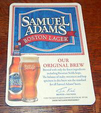 (24) SAM ADAMS DUAL SIDED BEER COASTERS *** BOSTON LAGER & ALPINE SPRING
