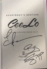 SIGNED CEELO GREEN &BIG GIPP IN PERSON Everybody's Brother 2013, HCDJ 1ST/1ST