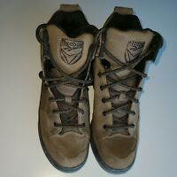 Reebok Outdoor Shoes Women's Hiking Trail Ankle Boots Brown Suede Leather Sz 9.5