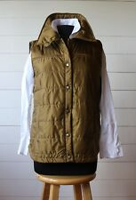 """Duckworth Woolcloud Women's Large """"Camel"""" Dark Gold Insulated Vest MADE IN USA!"""