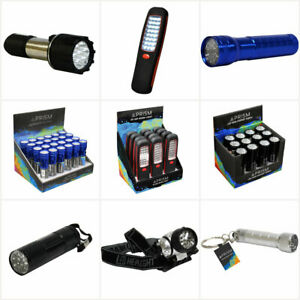Ultra Bright LED Torch Light Utility Flashlight Work Light With Battery LED Torc