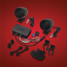 Show Chrome Accessories 13-252Btbk Black Bluetooth Amplified Stereo System