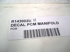 OEM Pleasuedcraft Marine Ehaust Manifold Decal Part Number R143002H
