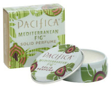 Pacifica Solid Perfume Tin 100% Vegan All Natural Scent MEDITERRANEAN FIG 10g
