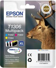ORIGINALE Epson Multipack CIANO/MAGENTA/GIALLO c13t13064012 t1306