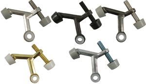 Adjustable Hinge Pin Door Stop Brass, Bronze, Nickel, Chrome Satin DOORSTOP