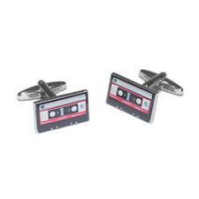 Red Tape Cassette Music Player Recording Artist Present GIFT Box CUFFLINKS