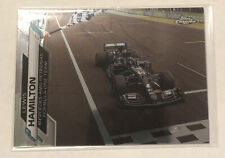 New listing 2020 Topps Chrome Formula 1 F1 Cars Lewis Hamilton