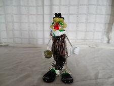"Murano art glass clown figure 8"""