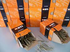 BTI Spanplattenschrauben Holzschrauben Torx gelb von 3,5x30bis 6x150mm Schrauben