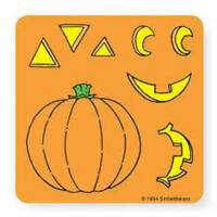 15 Make Your Own Jack o lantern Stickers Party Favors Birthday Pumpkin