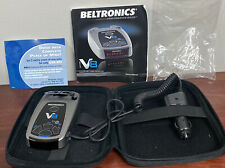 Beltronics V8 Radar and Laser Detector - Red Led Display Tested!