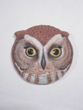 +# A006873 Goebel Archiv Muster Wandbild Kopf von Eule Uhu Kauz Owl 57-486