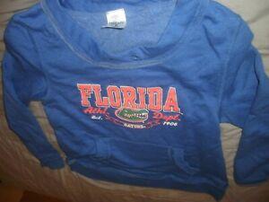 Florida Gators Boys Blue Sweatshirt Size Youth Small 6/6x (C17)