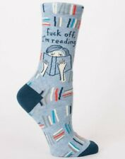 Blue Q Women's Crew Cotton Socks Novelty Funky Funny Gifts