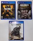 Call of Duty: PS4 Bundle (BO4, WW2, AW)