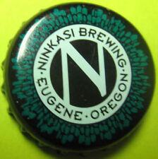 NINKASI BREWING used Beer CROWN, Bottle CAP w/ large N, Eugene, OREGON, NICE