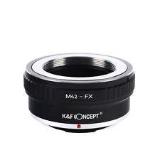 Объектив концепции K&F крепление адаптер M42 для Fuji X адаптер, подходят для Fuji XT2 XT20 XE3