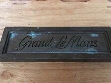 General Motors GM Pontiac Grand Le Mans Stamping Plate Automotive History