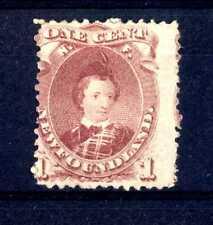 Newfoundland-1866-71-Série courante - Dentelés 12