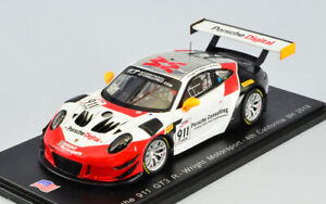 Model Car Scale 1:43 Spark Model Porsche 911 GT3 8H California DUMAS-M