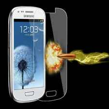 100%GENUINE TEMPERED GLASS SCREEN PROTECTOR FOR SAMSUNG GALAXY S3 MINI i8190 NEW