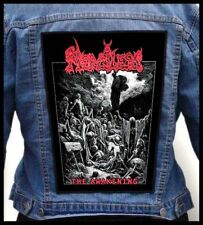 MERCILESS - The Awakening  --- Huge Jacket Back Patch Backpatch