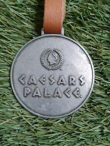 Caesars Palace Las Vegas NV - Cascata est 2000 - Metal Golf Bag Tag w/ Strap
