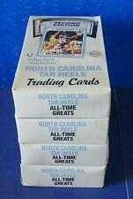 1990 NORTH CAROLINA COLLEGIATE WAX BOX 2nd Edition * 36 Packs * Michael Jordan