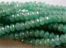 New 5x8mm Natural Faceted Emerald Abacus Loose Beads Gemstone 15'' AAA