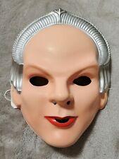 Vintage Babylon 5 Delenn Halloween Mask 1994 Rubies Costume