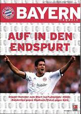 BL 2002/03 FC Bayern München - Borussia Mönchengladbach / 1. FC Köln
