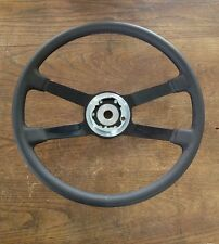 VDM PORSCHE 911/912 LEATHER STEERING WHEEL 380MM *NEW