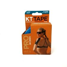 """KT Tape Kinesiology Therapeutic Elastic Sports Roll 20 Strips 10"""" Precut"""