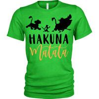 Kids Boys Girls Hakuna Matata T-Shirt Lion