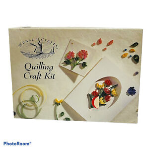 House Of Crafts Quilling Craft Kit Incomplete