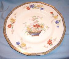 "4 Haviland GANGA Porcelain Place Set Rimmed 9 5/8"" DINNER PLATE Dish Coromandel"