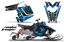 AMR Racing Sled Wrap Polaris Pro RMK Rush Snowmobile Graphics Kit 11-14 ZOMBIE