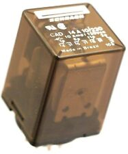 SCHRACK RELAY CAD14 A 10/220 10A 3PDT relay 220  V.A.C. coil  Obsolete 11 PIN