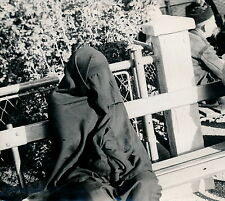 MONASTIR c. 1940 -  Femme Voilée Yougoslavie - DIV 3325