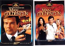 1977 The Man With The Golden Gun Bond Moore 007 Spy Action DVD Spec Ed Booklet