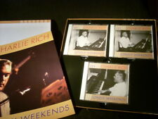 3 CD-BOX-SET- CHARLIE RICH - Sun Years'58-'62- Lonely Weekends-BCD16152(1998GER)