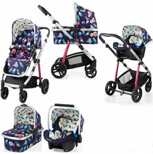 Cosatto WOW Pram and Pushchair in Eden With Raincover
