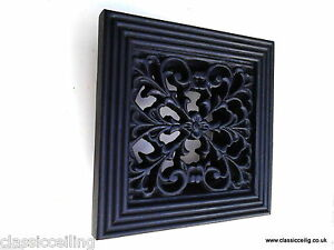 """Wall Vent Ducting Grille Cover Bathroom Extractor Fan Ducting 4"""" or 5""""Spigot"""