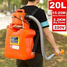 Electric ULV Fogger Sprayer Backpack 2200W 220V 20L