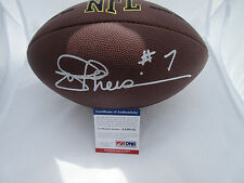 JOE THEISMANN SIGNED NFL FOOTBALL PSA/DNA COA AA90142 WASHINGTON REDSKINS
