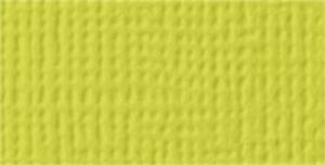 """American Crafts Textured Cardstock 12""""X12""""-Limeade - 25 Pack"""
