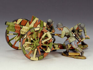 King & Country FW057 77mm Artillery Set 1917 MIB Retired