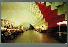 Willow Run Air Terminal Detroit, Michigan retro postcard (my #109)