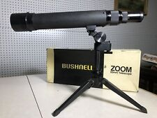 BUSHNELL SPORTVIEW 60 MM TELESCOPE WITH TRIPOD MODEL # 78-2060